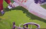 """В.Кнышевский""""Юные ракетчики,""""33*53см, орг.м., 1982г, фото №9"""