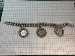 Браслет металлический с монетками, фото №2
