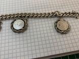 Браслет металлический с монетками, фото №6