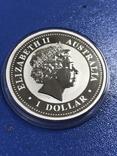 1 доллар 2007 Австралия,год Свиньи, фото №7
