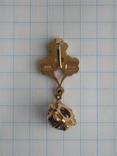 Золотой кулон с цепочкой 583 проба 5.1 гр. СССР, фото №5