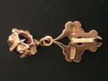 Золотой кулон с цепочкой 583 проба 5.1 гр. СССР, фото №7