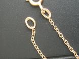 Золотой кулон с цепочкой 583 проба 5.1 гр. СССР, фото №10
