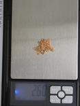 Золотой кулон с цепочкой 583 проба 5.1 гр. СССР, фото №13