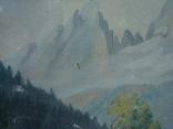 Картина на холсте без подрамника худ.W.Wolfram 50/35см., фото №5