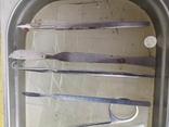 Медицинские инструменты лоток ножницы скальпель пинцет, фото №6
