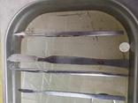Медицинские инструменты лоток ножницы скальпель пинцет, фото №7