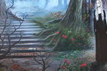 Дом голубого света (The house of blue light). 50х70 см. Холст, масло. Алек Гросс, фото №4