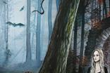 Дом голубого света (The house of blue light). 50х70 см. Холст, масло. Алек Гросс, фото №5