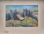 """Кашшай А. М. , """"Пiд горою"""" 1956 год. ( не выкуп лота)., фото №3"""