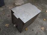 Бак бачек расширительный паровое отопление нержавейка б/у для воды, фото №7