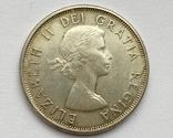 Канада 50 центов 1963 года Серебро, фото №2