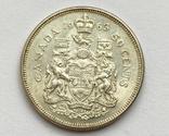 Канада 50 центов 1963 года Серебро, фото №5