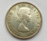 Канада 50 центов 1963 года Серебро, фото №6