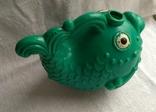 Советская игрушка Лейка Рыба, клеймо, фото №4