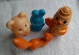 Советские игрушки Львенок, Зайчик, Сова, Белочка, фото №9
