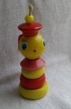 Советская деревянная игрушка Морячок, фото №2