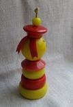 Советская деревянная игрушка Морячок, фото №3