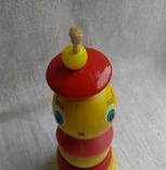 Советская деревянная игрушка Морячок, фото №4