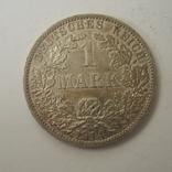 Германия 1 марка 1914 года.А, фото №6