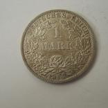 Германия 1 марка 1914 года.А, фото №8