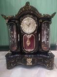 Часы музыкальная шкатулка для украшений интерьерные, фото №2