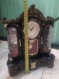Часы музыкальная шкатулка для украшений интерьерные, фото №11