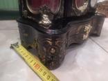 Часы музыкальная шкатулка для украшений интерьерные, фото №12