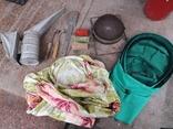 Пчеловодство пчеловодческий инвентарь дымарь сетка наващиватель маска, фото №4