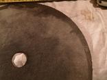 Диск отрезной СССР большой по металу для болгарки, фото №5