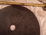 Диск отрезной СССР большой по металу для болгарки, фото №11