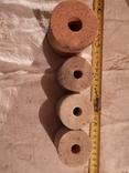 Круг шлифовальная чашка цилиндрической формы 4 штуки, фото №2