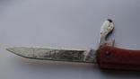 Складной нож СССР с линейкой, фото №6
