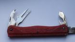 Складной нож СССР с линейкой, фото №10