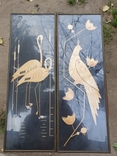 Картины из соломы. 2 шуки. Птицы. Кукушка., фото №2