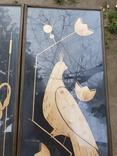 Картины из соломы. 2 шуки. Птицы. Кукушка., фото №4