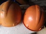 3 строительные шахтерские каски труд дружба БАМ, фото №6
