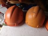 3 строительные шахтерские каски труд дружба БАМ, фото №7