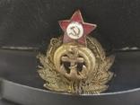 Морская офицерская фуражка 1955года, фото №13