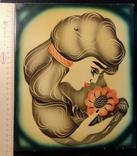 Девушка с цветком, фото №4