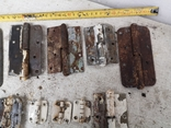 Петли завесы дверные металлические б/у много уборка гаража, фото №9