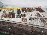 Петли завесы дверные металлические б/у много уборка гаража, фото №12