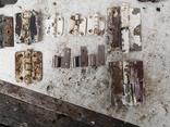Петли завесы дверные металлические б/у много уборка гаража, фото №13