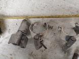 Петли завесы дверные гаражные части уборка гаража, фото №5
