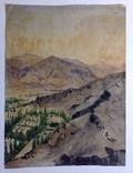 Горный пейзаж. Уч.Курган. А. Широков 30,5х22,5., фото №2