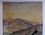 Горный пейзаж. Уч.Курган. А. Широков 30,5х22,5., фото №7