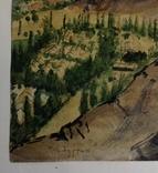Горный пейзаж. Уч.Курган. А. Широков 30,5х22,5., фото №8