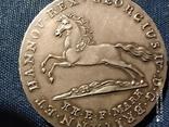 Германия.Ганновер,16 грошей 1826 г. Серебро., фото №6
