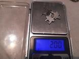 Серьги серебро 925 пробы, фото №5