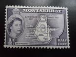 Британские колонии. Монтсеррат.  МН, фото №2
